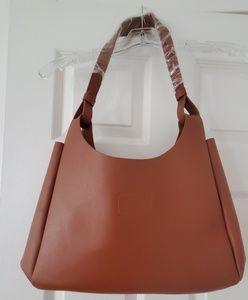 Neiman Marcus Camel Tote Bag
